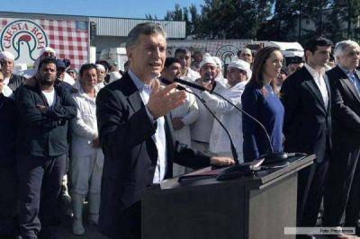 Crónica de un veto anunciado: Macri lo oficializa en Cresta Roja