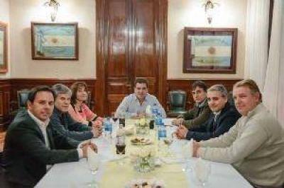 El diputado Britos se reunión con el ministro de Seguridad de la Provincia