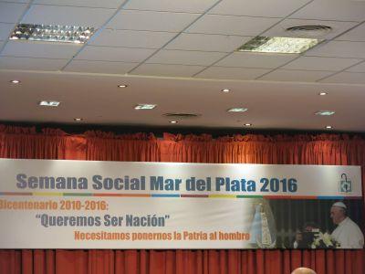 Comenz� la Semana Social 2016 en Mar del Plata