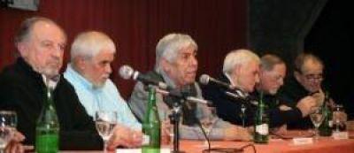 Centrales obreras coincidieron en cr�ticas al veto de Macri y avanzaron en la unidad