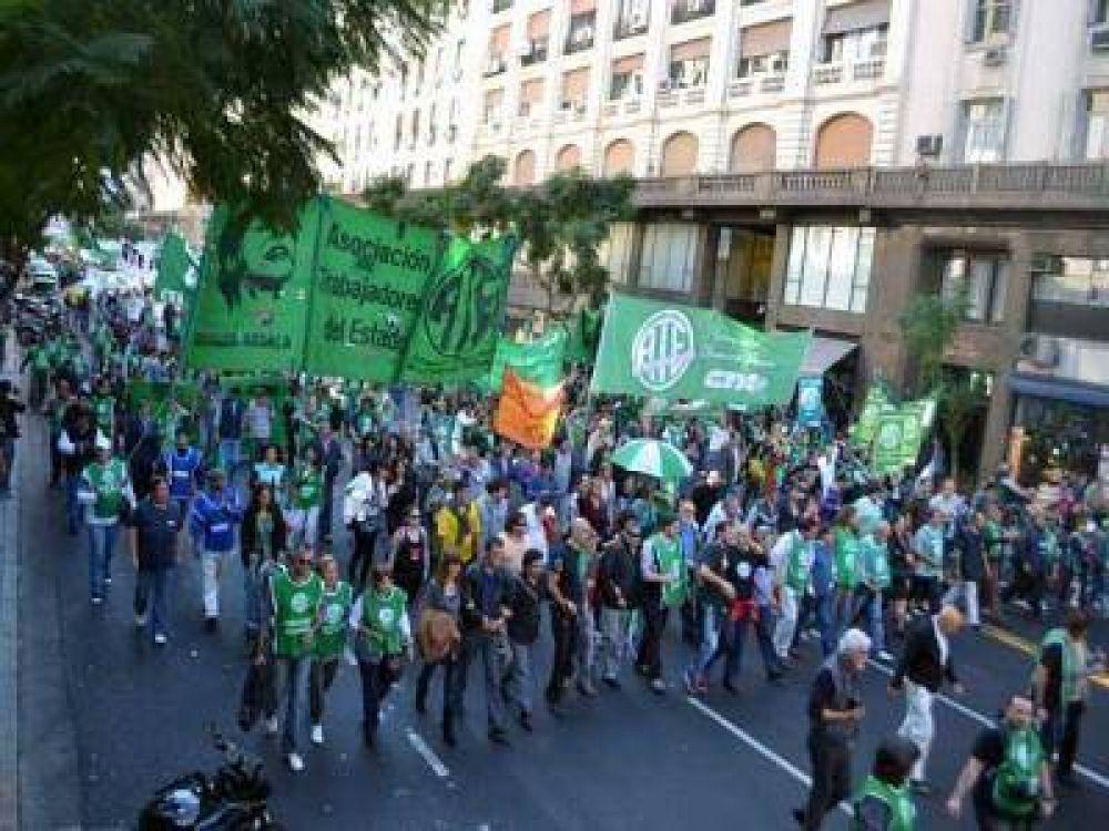 ATE Capital adhiere al paro del 24 de Mayo con pedido de reapertura de paritarias
