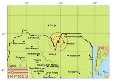 Un fuerte sismo de 5º despertó a los vecinos de Tartagal, Salvador Mazza, Aguaray y Orán