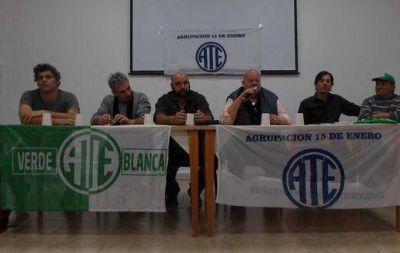 ATE Verde y Blanca hace su presentaci�n en San Mart�n y avanza en la Provincia