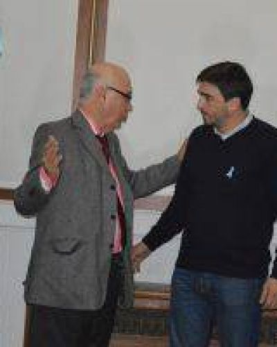 Gorosito se reunió con el Intendente de Olavarría