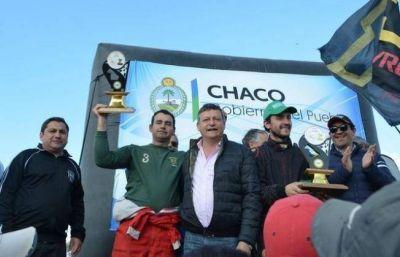 Peppo prometió seguir apoyando el deporte en el interior
