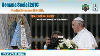 Semana Social 2016: Mensaje final