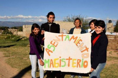 Piden la regularizaci�n de tierras en el asentamiento Magisterio