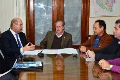 El ministro Schepens recibió a las nuevas autoridades de la UIER