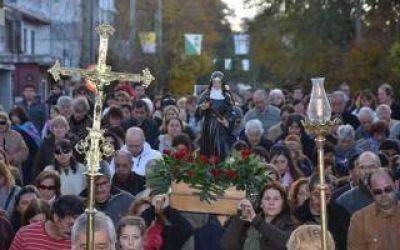 San Isidro celebr� las fiestas Patronales de Santa Rita