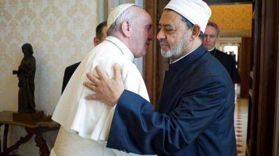 La histórica invitación de Al-Tayyeb al Papa: «Vaya a Al-Azhar»