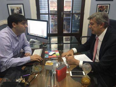 El encuentro entre Bossio y D'Alessandro genera expectativas en la política local