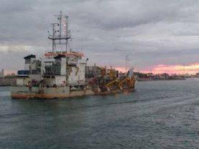 Puerto Quequén: Tercera campaña de dragado