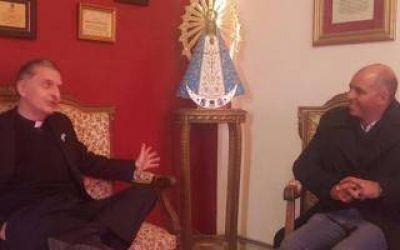 Diputado Mignaquy fue recibido por el Obispo de 9 de Julio
