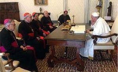 La Presidencia del CELAM se reunió con el papa Francisco
