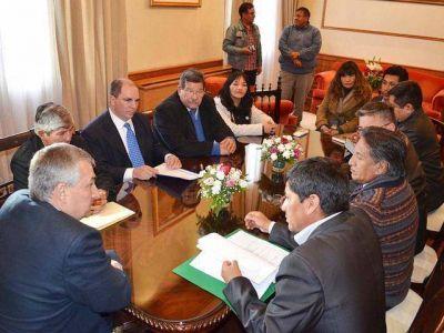 Frontera definen acciones para mejorar el tránsito con Bolivia