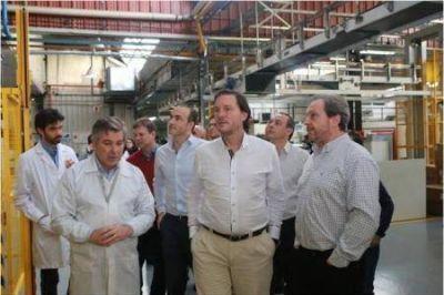 Caballero y Koremblit visitaron industrias de Río Grande