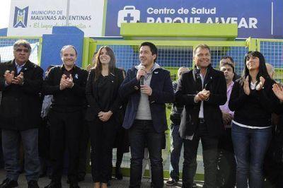 Nardini puso en funcionamiento un nuevo Centro de Salud 24 horas