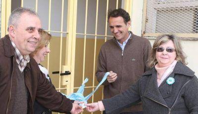 Katopodis inauguró dos aulas en la escuela primaria Nº 23 en San Martín