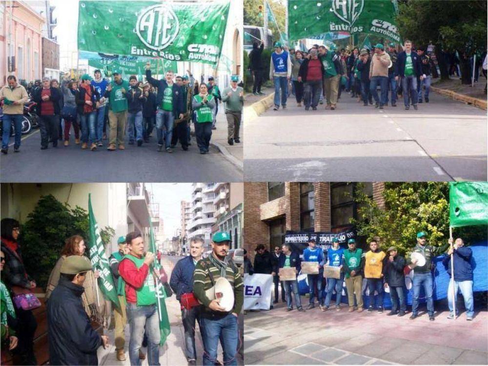 """""""Nos sobran motivos para seguir en las calles"""", dijo Muntes en la jornada de paro nacional"""