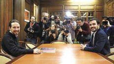 La unión de izquierdas promete en España