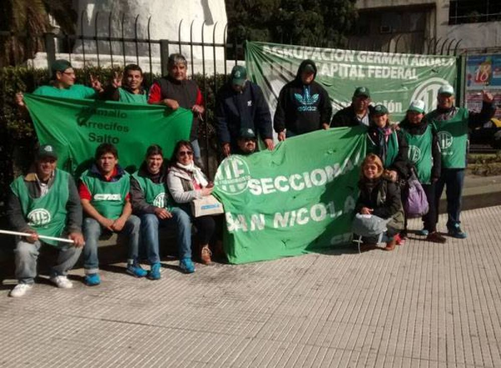 Ramallo: ATE se movilizó a Plaza de Mayo