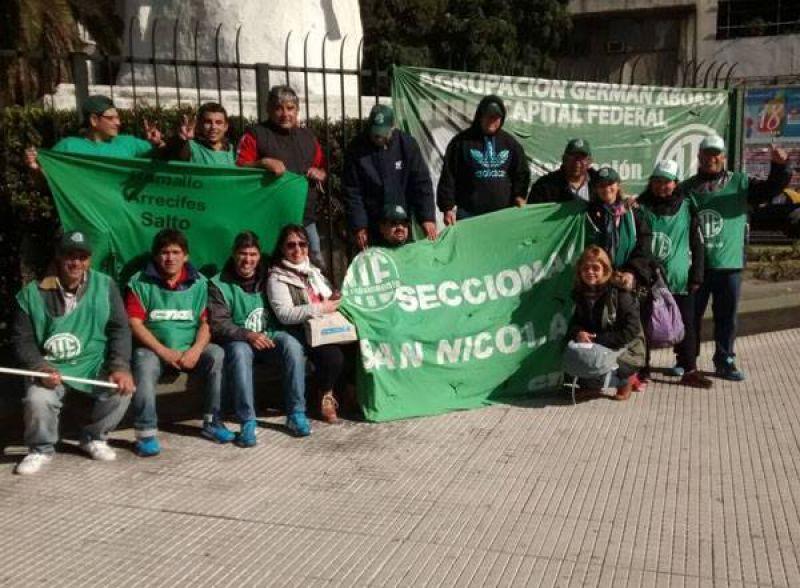 Ramallo: ATE se moviliz� a Plaza de Mayo