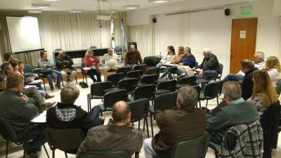 Tarifa eléctrica: Reunión de referentes políticos, directivos de clubes y consejeros de la CES
