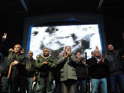 Con Quintana, Caló y Medina se reunió la CGT provincial en busca de la unidad