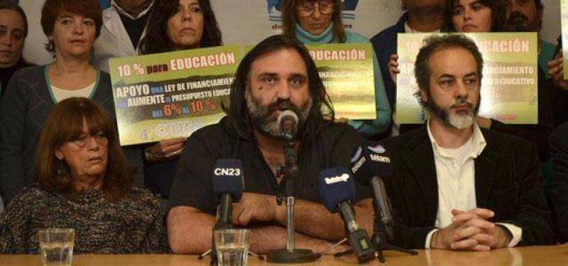 Suteba le reclama respuestas a Vidal