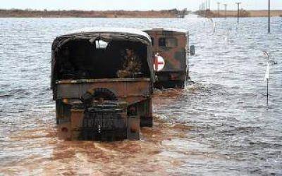 Situación crítica en Puán y Adolfo Alsina por las inundaciones
