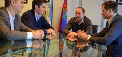 Bucca y Mosca se juntaron y coincidieron en limitar las reelecciones indefinidas en la Provincia