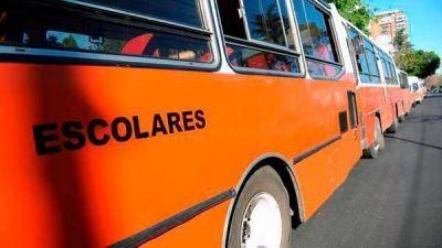 Transporte escolar: aprobaron 48 recorridos para escuelas rurales