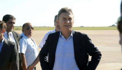 Macri va a Córdoba antes del primer test electoral, en Río Cuarto