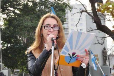 En el acto del 25 de Mayo en Trenque Lauquen: �Un presente nos re�ne, un futuro nos espera�