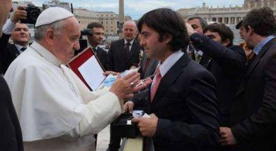 Intendentes peronistas se reunieron con el Papa y se mostraron preocupados por el narcotr�fico