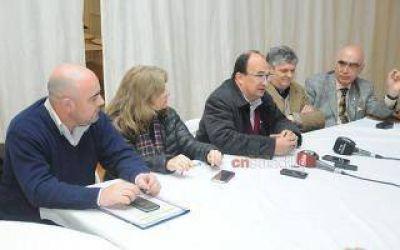 Saladillo: Intendente Salomón recibió a directivos del Grupo Bapro