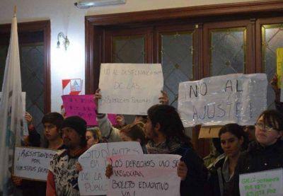 Ejecutivo hizo un veto parcial a la ordenanza de Boleto Educativo