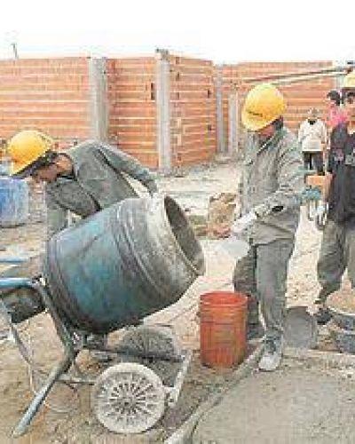 Las obras de viviendas están paradas