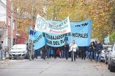 Tras el paro y movilizaci�n de docentes municipales se abre un canal de di�logo con �otras autoridades�