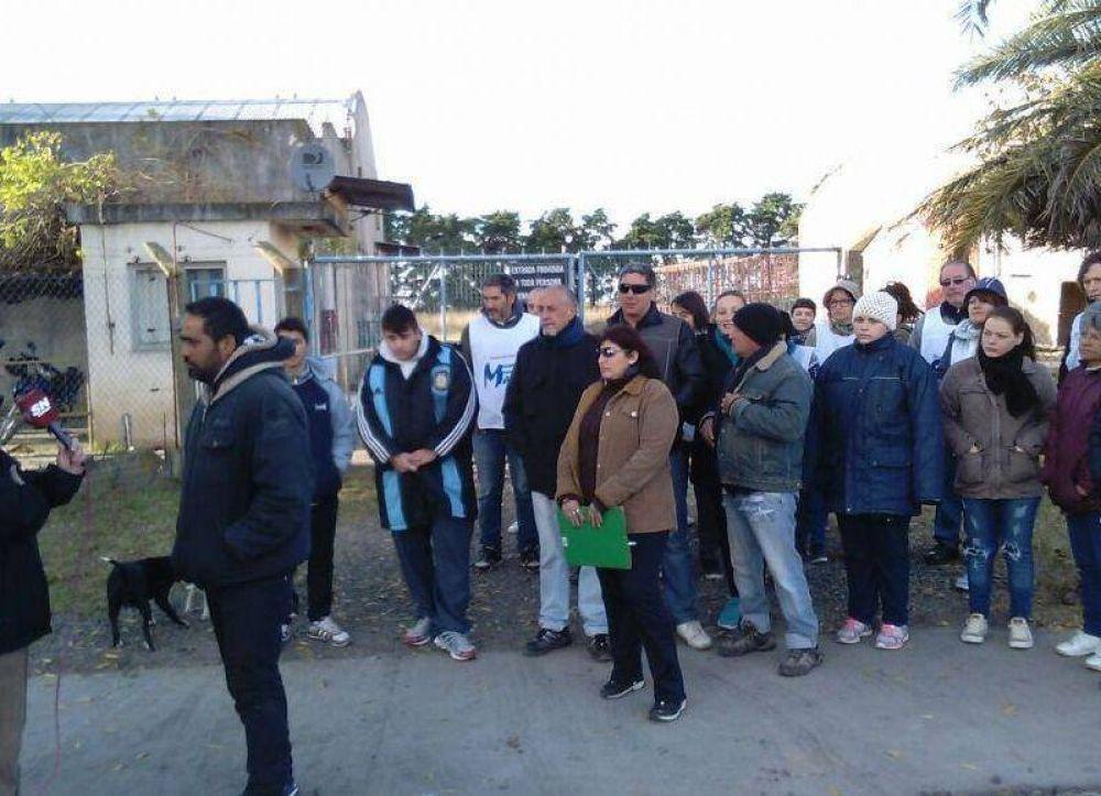 """La CTA acompañó a los trabajadores de la Textil """"Del Fiorentino e Hijos"""""""