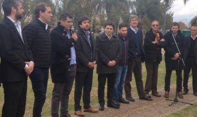 Garro inauguró la zona Wi Fi en Parque Alberti