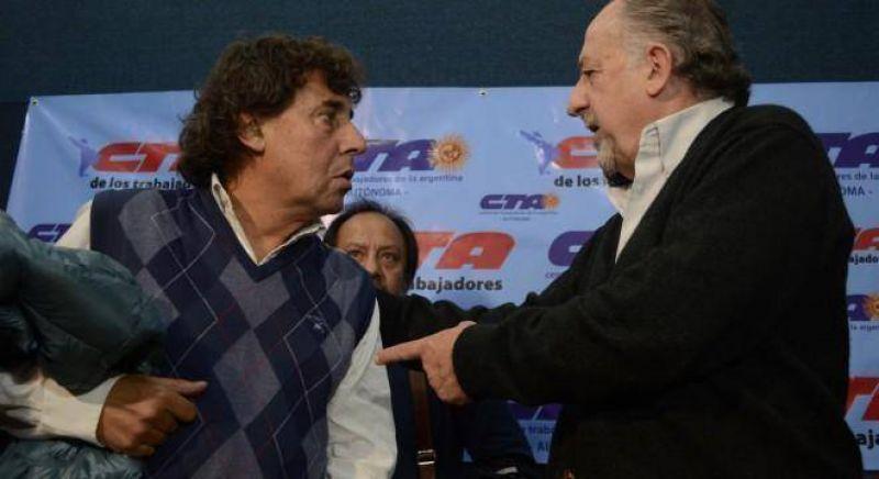 Yasky y Michelli ratificaron que marcharán el jueves a plaza de mayo sin la CGT