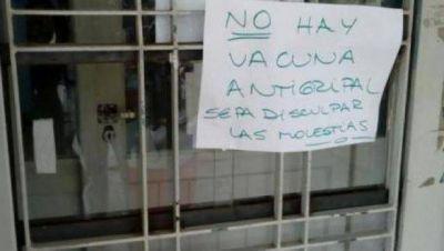 Alarma: denuncian que faltan vacunas antigripales en el Distrito
