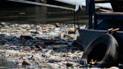 Animales muertos, electrodom�sticos y malos olores: as� est� hoy el r�o Reconquista, casi tan contaminado como el Riachuelo