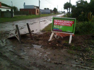 Un temporal afecta a Mar del Plata y suspenden las clases