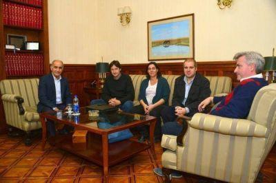 Wuiovich se reunió con el Vicegobernador de la Provincia de Buenos Aires Daniel Salvador