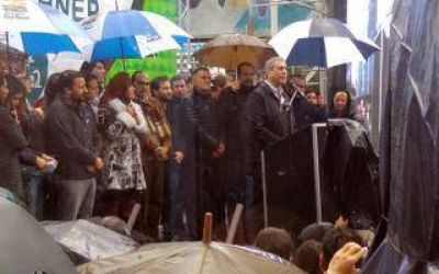 Ferraresi inauguró el edificio Cristina Kirchner en Avellaneda