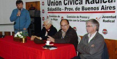 Se realizó en Saladillo el primer encuentro de Concejales radicales de la séptima sección
