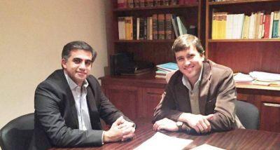 Matias Posadas y Miguel Nanni, juntos por la reforma constitucional