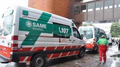 SAME comenzó a atender las emergencias de Lanús